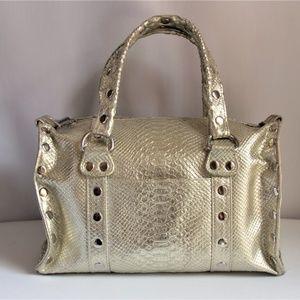 Rare Hammitt Westwood Silvery-Gold Metallic Bag